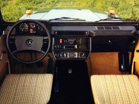 интерьер Mercedes-Benz G-класса в кузове W460