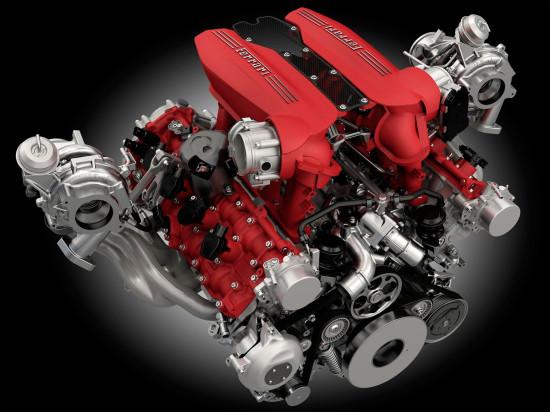 мотор 488 GTB