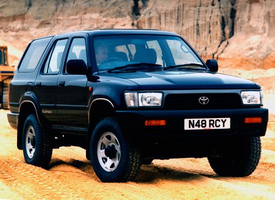 Тойота 4Раннер 1989-1995 N130