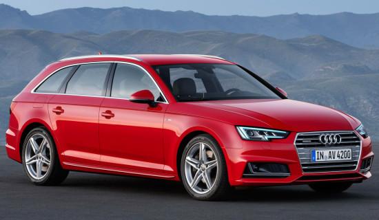 Audi A4 Avant B9 универсал