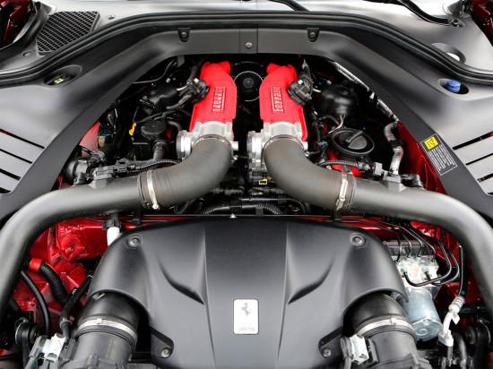 под капотом Ferrari California T