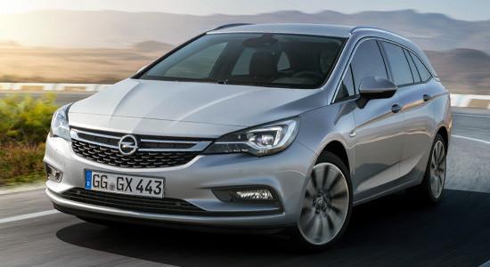 Opel Astra K Sports Tourer на IronHorse.ru ©