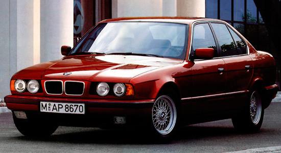 BMW 5-series (E34) на IronHorse.ru ©
