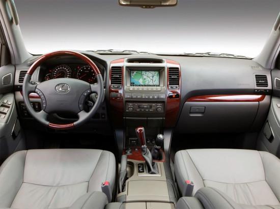 интерьер Lexus GX470