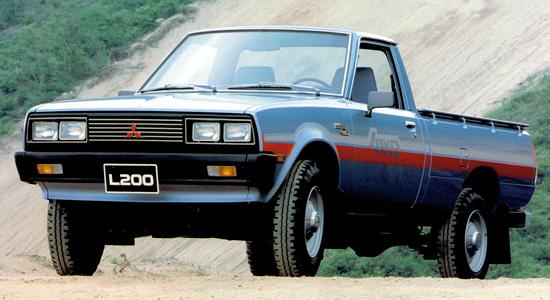 Mitsubishi L200 1982-1986