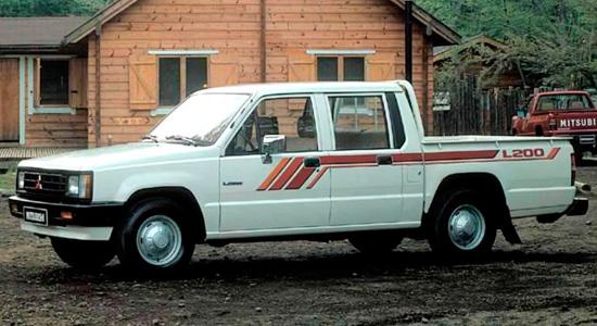 Mitsubishi L200 1986-1996 годов