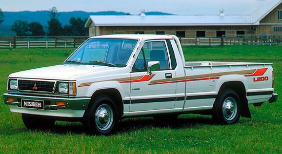 Mitsubishi L200 2 (1986-1996) на IronHorse.ru ©