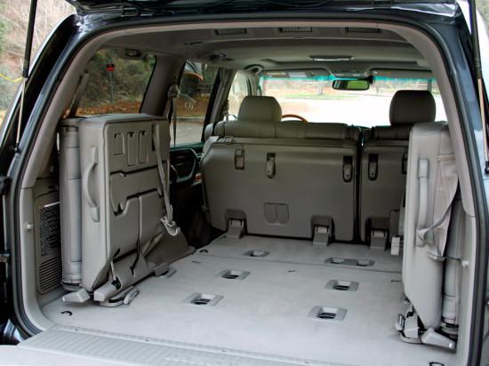 багажное отделение ЛХ 470 (2-е поколение)