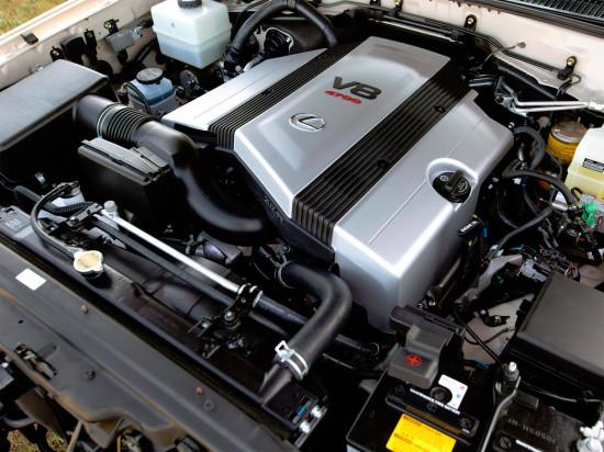под капотом LX 470 (1998-2007)
