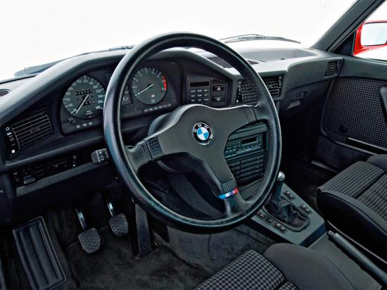 интерьер салона М-версии 5-й серии 1984-1987