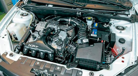 под капотом NFR-Калина (двигатель)