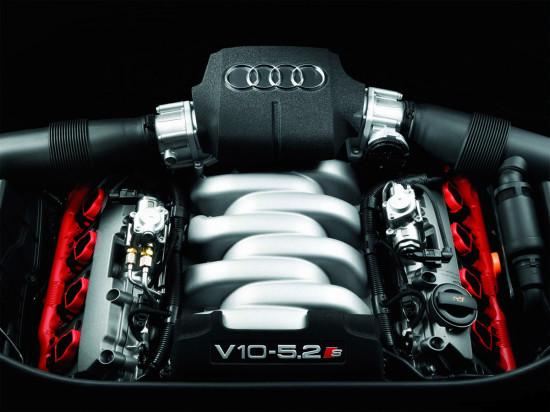 под капотом Audi S8 D3
