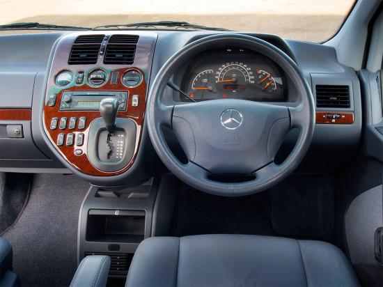 интерьер V-класса 1996-2003