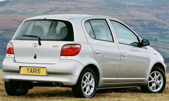 Toyota Yaris 1998-2005