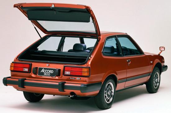 hatchback Accord 3Dr 1976-1981