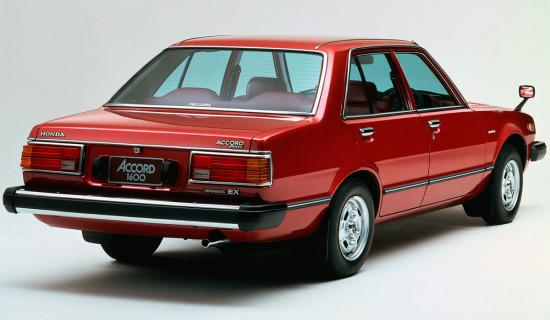 sedan Honda Accord 1977-1981