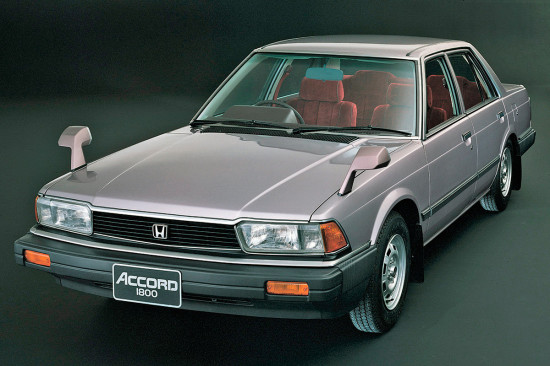 Хонда Аккорд 2 1981-1985