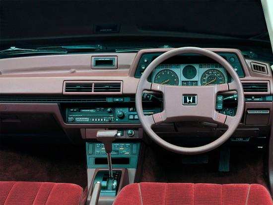 интерьер салона Honda Accord II