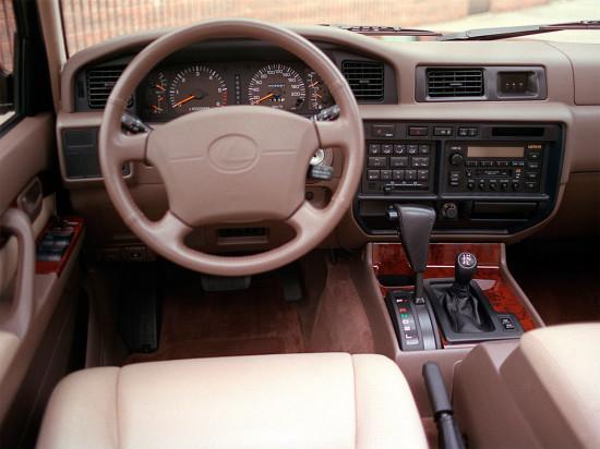 интерьер Lexus LX450 J80