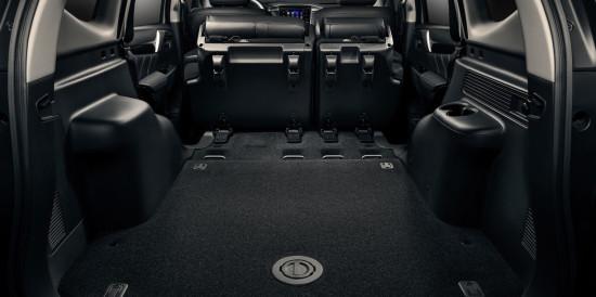 багажное отделение Mitsubishi Pajero Sport 3