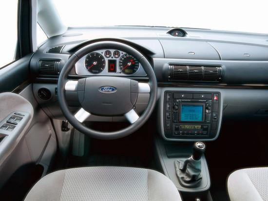 интерьер салона Ford Galaxy 2