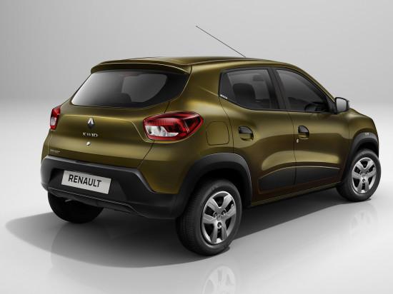 Renault Kwid (вид сзади)