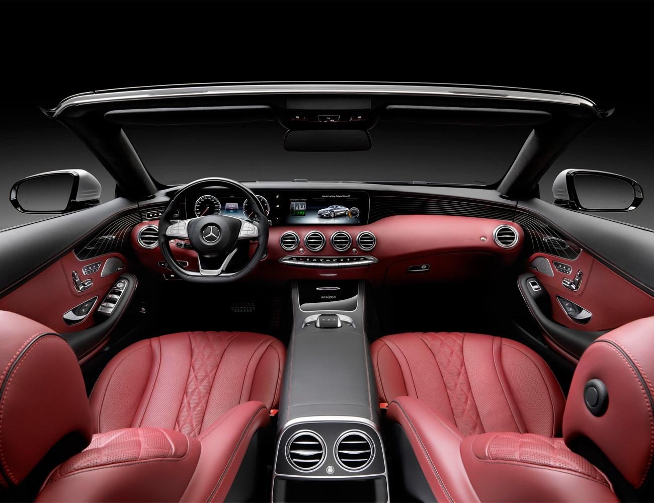 """Картинки по запросу """"Mercedes-Benz S-Class Cabriolet салон"""""""""""