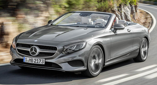 Mercedes-Benz S-Class Cabrio (A217) на IronHorse.ru ©