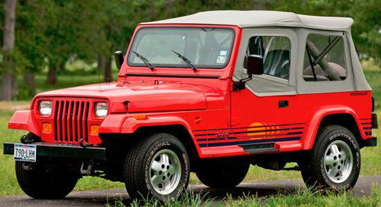 Jeep Wrangler (1987-1996, YJ) на IronHorse.ru ©
