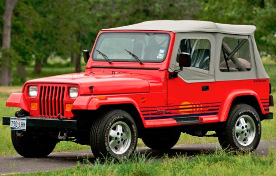 1987-1996 Wrangler YJ