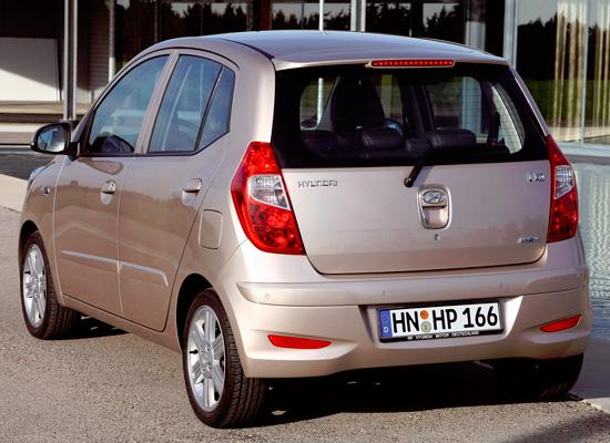 Hyundai i10 1-поколения (2007-2014)