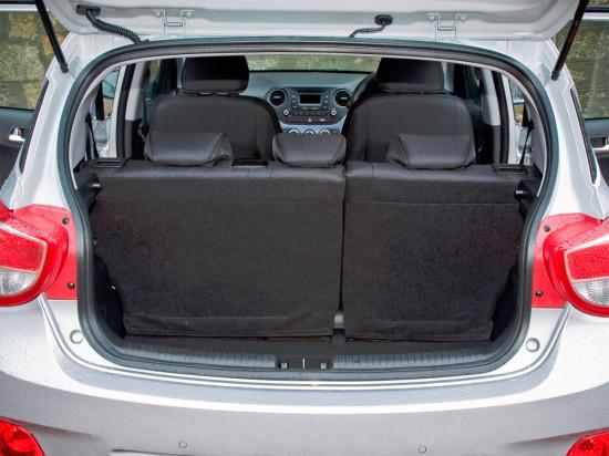 багажное отделение второго Hyundai i10