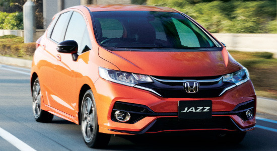 Honda Jazz 3 (2017-2018) на IronHorse.ru ©