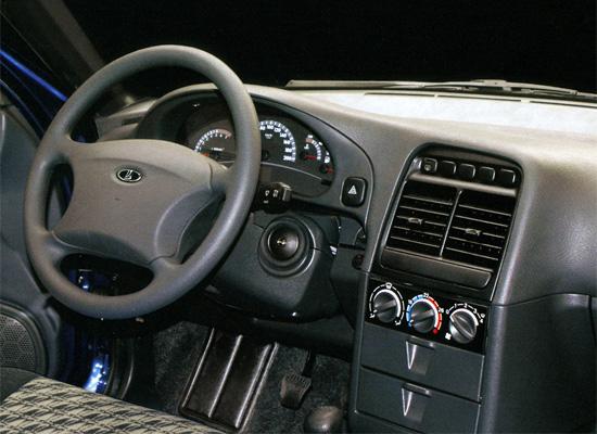 интерьер Lada 112