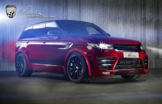 Lumma CLR RS (тюнинг Range Rover Sport)