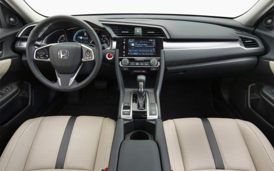 интерьер Civic 4D 10
