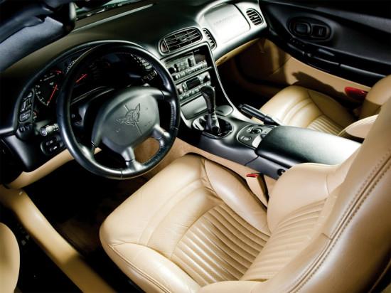 интерьер Corvette C5