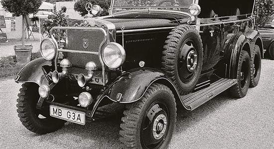 Mercedes-Benz G3a на IronHorse.ru ©