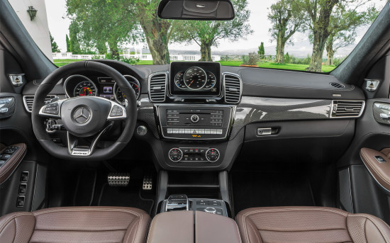 интерьер Mercedes-AMG GLS 63
