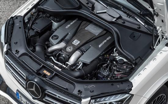 мотор Mercedes-AMG GLS 63 X166