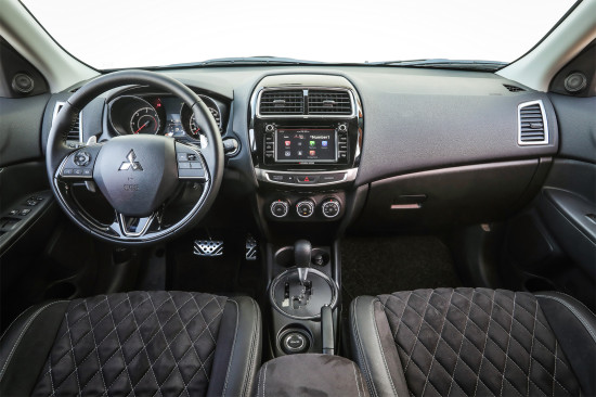 интерьер салона Mitsubishi New ASX