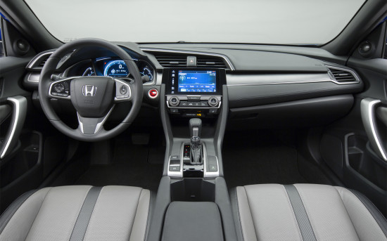 интерьер Civic Coupe