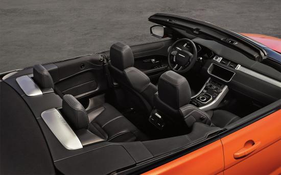 салон Range Rover Evoque Convertible