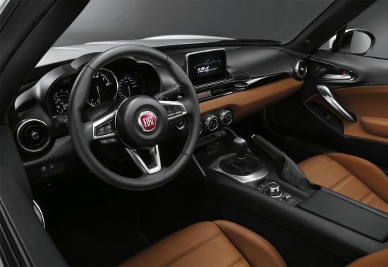 интерьер Fiat 124 Spider