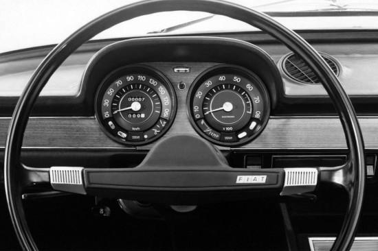 интерьер Fiat 124