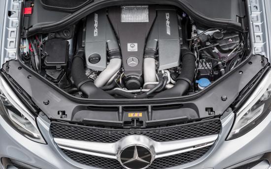 двигатель Мерседеса АМГ купе-ГЛЕ 63