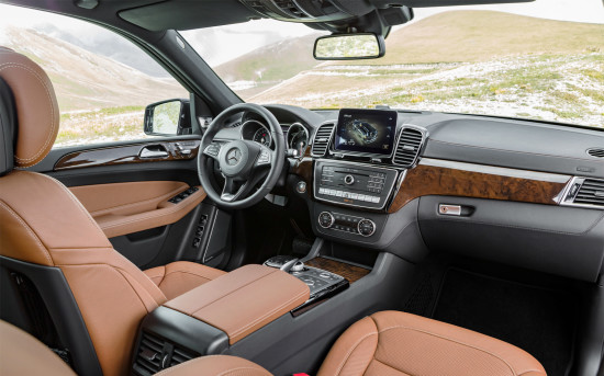 интерьер Mercedes GLS