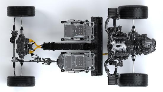 силовые агрегаты Acura NSX