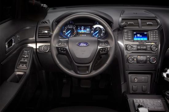 интерьер Ford Police Interceptor Utility