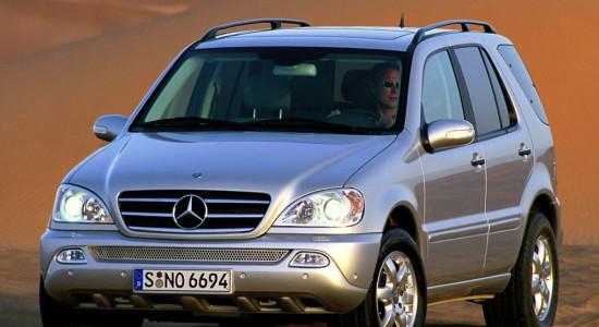 Mercedes-Benz M-Class (W163) на IronHorse.ru ©